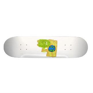 Olive Live here buy here Skate Board Deck