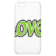 Olive Love iPhone 5C Cases