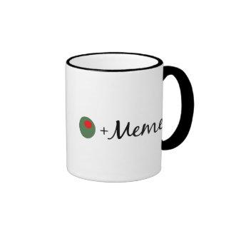 Olive Meme Ringer Mug