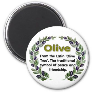 Olive Name Magnet