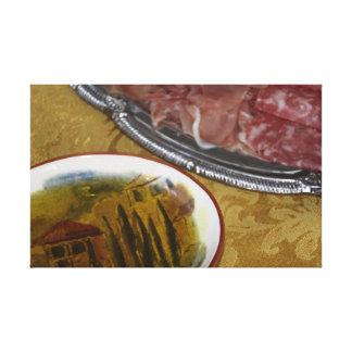 Olive Oil Antipasto! Canvas Print