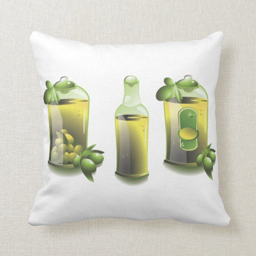 Olive Oil EVOO For Chefs Pillows