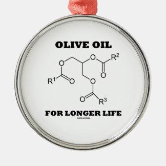Olive Oil For Longer Life (Molecule) Ornament
