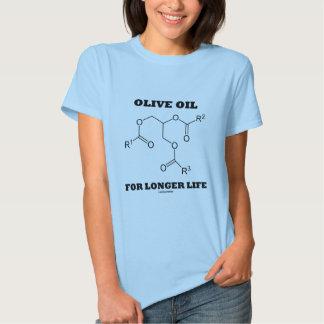 Olive Oil For Longer Life (Molecule) T-shirt