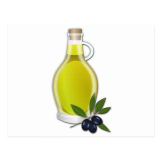Olive Oil Postcard