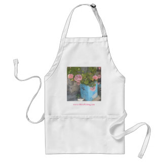 Olive Oil Tin in Bloom Adult Apron