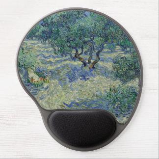 Olive Orchard by Vincent Van Gogh Gel Mouse Mats