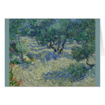 Olive Orchard by Vincent Van Gogh Greeting Card