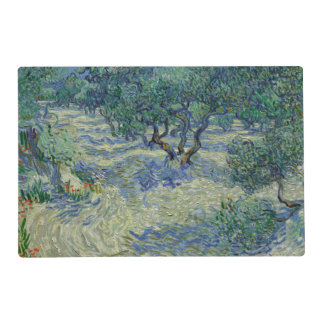 Olive Orchard by Vincent Van Gogh Placemat