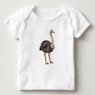 Olive Ostrich Baby T-Shirt