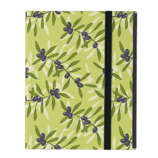 Olive Pattern iPad Cover