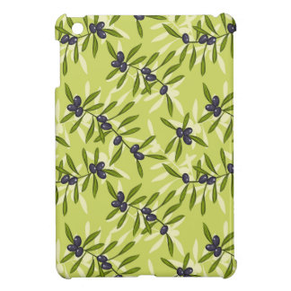 Olive Pattern iPad Mini Cases