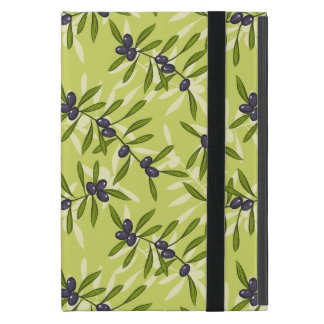 Olive Pattern iPad Mini Cover