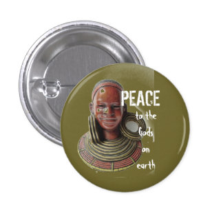 Olive Peace to the Gods button