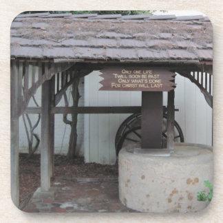 Olive Press at Ventura Mission Beverage Coaster