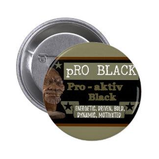 Olive pRO BLACK button
