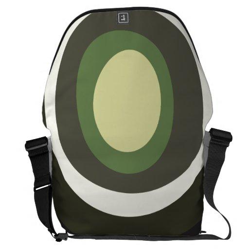 Olive Rickshaw Large Zero Messenger Bag