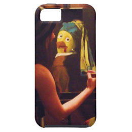 Olive Rootbeer joins team chicken painter iPhone SE/5/5s Case