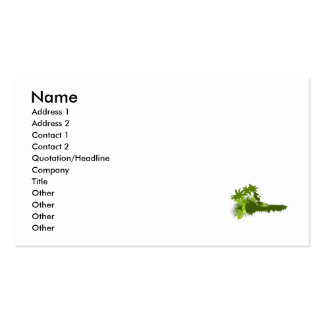 Olive Surfer Double-Sided Standard Business Cards (Pack Of 100)