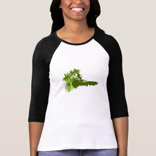 Olive Surfer Tee Shirt