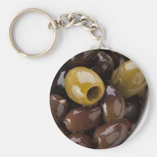 Olive Tapas Keychain