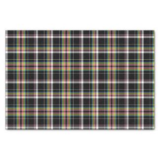 """Olive Tartan Pattern 10"""" X 15"""" Tissue Paper"""