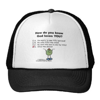 Olive the Above! Trucker Hat