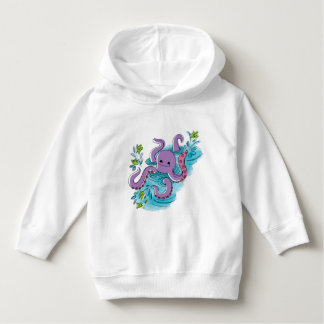 Olive-the-Octopus Baby Pullover Hoodie