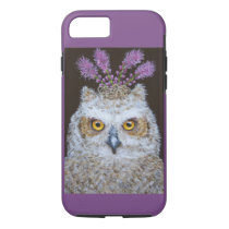 Olive the owlet iPhone 8/7, Tough Phone Case