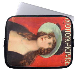 Olive Thomas 1919 vintage movie magazine Computer Sleeve