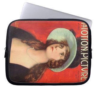 Olive Thomas 1919 vintage movie magazine Computer Sleeves