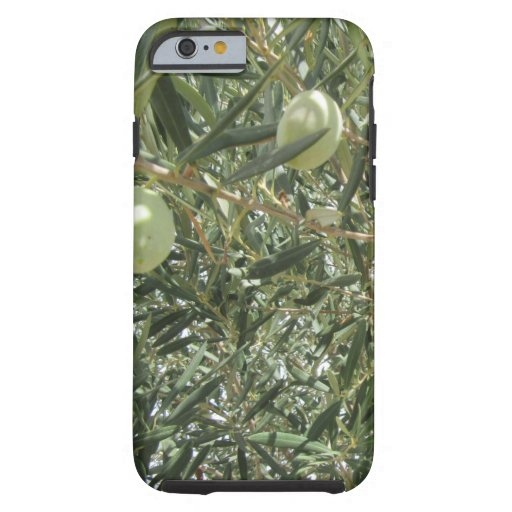 Olive Tree Fall Autumn Patterns Tough iPhone 6 Case