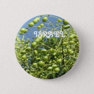 Olive Tree in Israel Pinback Button