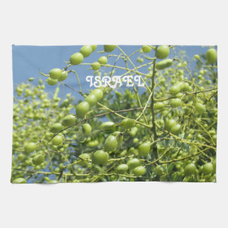 Olive Tree in Israel Towels