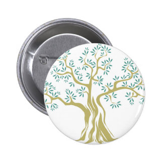 Olive tree pinback button