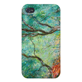Olive Tree Wood in the Moreno Garden, 1884 iPhone 4 Case