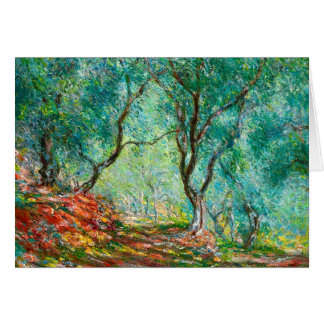 Olive Tree Wood in the Moreno Garden, 1884 Stationery Note Card