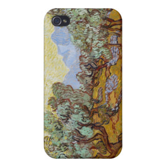 Olive Trees, 1889 (oil on canvas) iPhone 4 Case