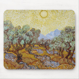 Olive Trees, 1889 (oil on canvas) Mouse Pad