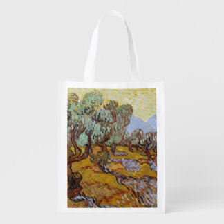 Olive Trees, 1889 (oil on canvas) Grocery Bag