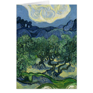 Olive Trees by Van Gogh Card