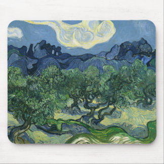 Olive Trees by Van Gogh Mouse Pad