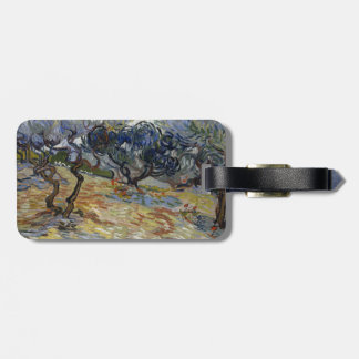 Olive Trees by Vincent Van Gogh Bag Tag