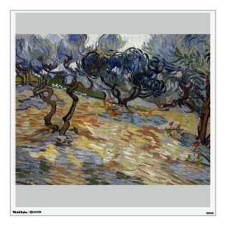 Olive Trees by Vincent Van Gogh Wall Stickers