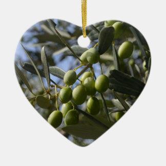 Olive Trees Ceramic Ornament