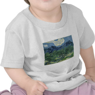 Olive Trees in a Mountainous Landscape Shirts