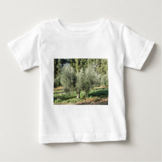 Olive trees in a sunny day. Tuscany, Italy Baby T-Shirt