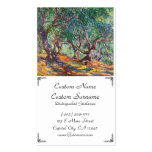 Olive Trees in Bordighera, 1884 Claude Monet Business Cards