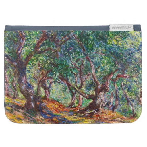 Olive Trees in Bordighera, 1884 Claude Monet Kindle Keyboard Covers