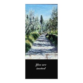 OLIVE TREES IN FLORENCE CARD